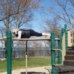 Monkey Bar Fitness Planks