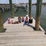 Charleston Dock Planks with the Family!