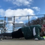 Tennis Court Planks!